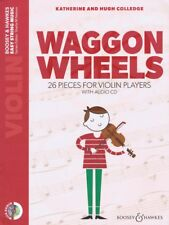Waggon Wheels 26 Pieces for Violin Players Book Cd Chamber Music Book 048024423