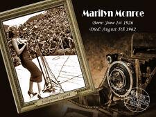 MARILYN MONROE  HOLLYWOOD LEGEND VINTAGE RETRO IDEAL GIFT HIM / HER METAL SIGN