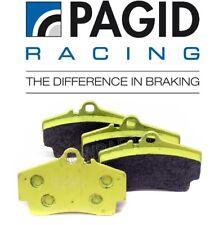 Porsche 911 Boxster Cayman Rear Disc Brake Pad Set Yellow Pagid Racing 995541837
