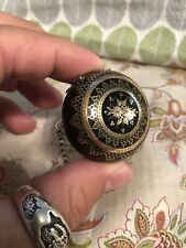 Super Rare Antique Pique Gold Silver