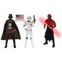 Darth Vader & Darth Maul & Stormtrooper Star Wars Costume For Halloween Cosplay