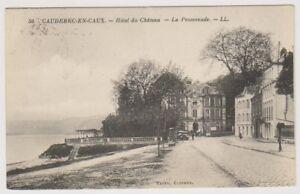 France postcard - Caudebec en Caux - Hotel du Chateau - LL No. 50 - P/U (A150)
