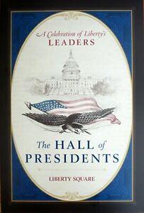 "WALT DISNEY WORLD HALL OF PRESIDENTS Attraction Poster 12 x 18"" NEW"