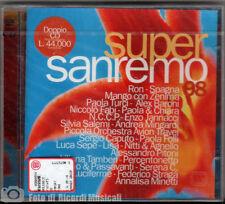 SUPERSANREMO 98 **SIGILLATO** (1998) CD DOPPIO sanremo