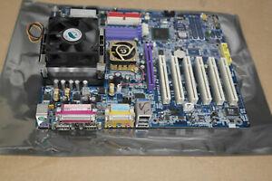 Gigabyte GA-8PE667 motherboard Socket 478  AGP PCI IDE CPU heatsink