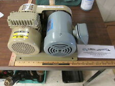 National EM-FBH 200-220 Volt 3Ph Electric Motor W/Orion Dry Pump Great Cond!