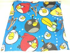 Angry Birds Twin Flitted Bed Sheet Blue 2009-2012