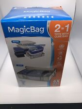 Space Saving Magicbag 2-in-1 Tote With Cube Bag 4X More Space