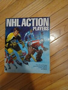 1974 - 75 NHL Action Players Sticker Book Album Complete with all Stickers