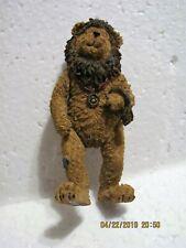 Boyds Bears Wizard of Oz Lion - Shoe Box Bears - Style #3260