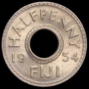 Fiji Halfpenny 1954 (GLIU-003G)