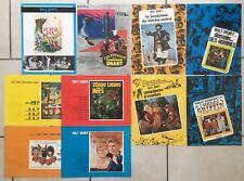 Lot de 10 Synopsis WALT DISNEY - Press-Book Cinéma 70-80's - Peter Pan ...