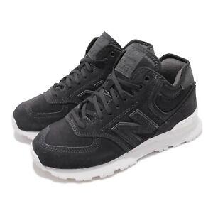 New Balance 574 B Black White Women Running Casual Shoes Sneakers WH574BB B