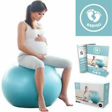 BABYGO Birthing Ball Pregnancy Maternity Labour & Yoga Ball With Free Trimester