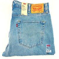 Levi's Strauss 511 Mens Denim Jeans Slim Leg Stretch Light Wash W38 x L34 New