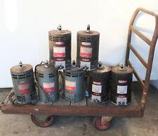LOT OF 7 - DC Electric Motor 2.5HP // 36V DC // 2000 RPM // 56M Clarke 45001D