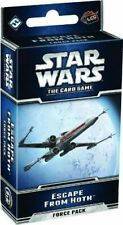 Star Wars the Card Game Escape From Hoth Force Pack LCG Fantasy Flight FFG