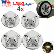 4x For 1997 2003 Ford F150 F 150 97 02 Expedition Hub Wheel 7 Center Cap Chrome Fits 1997 Ford F 150