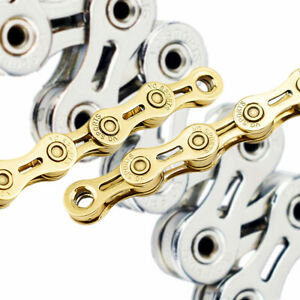VG Sports 9 10 11-Speed 116-Link Stretch-Proof Bike Chain fits Mountain 128''