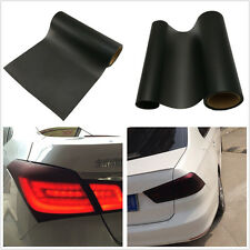 Matte Black Auto Taillight Vinyl Film Tint Sticker Protection Decal For Off-Road