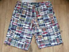 Old Navy Mens Patchwork Shorts Cotton Size UK 32