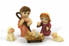 Dreamsicles 5-Piece Miniature Nativity Set- 2005 Willitts School Designs Nib