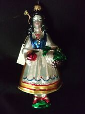 Kurt Adler Polonaise Ornament - Snow White - Nwt