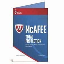 McAfee Total Protection 2017 5 Geräte / 1 Jahr* -DEUTSCH- (Code Only)  FFP
