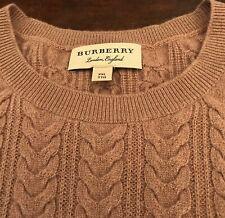 BURBERRY splendido maglione in 100% cachemire. Taglia 56 IT