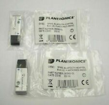 2-Pack Plantronics BUA-100 USB Universal Bluetooth Adapter for Bluetooth Headset