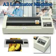 A3 Laminating Laminator Plastic Cold Hot Mounted Thermal Roller Pouch Machine