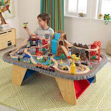 KidKraft Waterfall Junction Train Set & Table Kids Boys Toy Thomas The Tank Brio