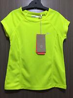 BNWT Girls Size 12 Fluro Yellow Target Active Short Sleeve Sports Athletics Top