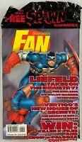 Fan Magazine #16, October 1996, + Spawn Fan Edition #1, Captain America