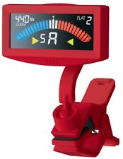 KORG Pitchcrow AW-4G-RD Clip-On Chromatic Tuner For Guitar or Bass - RED NEW