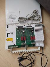 Telekom T-Concept XI721 ISDN Telefonanlage + 2x 2 S0-Karten + Kabel + Software