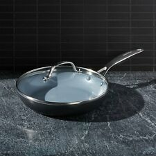 """New listing Green Pan Valencia Pro 10"""" Covered Fry Pan"""
