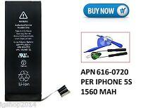 Original-Akku iPhone 5 s li-ion Polymer 1560 mAh 3, 8v Lose APN: 616-0720