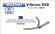 COLLECTEUR ARROW AVEC CATALYSEUR SUZUKI V-STROM 650 2017 - 71677KZ