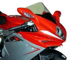 MV159/C FABBRI Cupolino DOUBLE BUBBLE Trasparente per MV Agusta F4S R/RR 2012