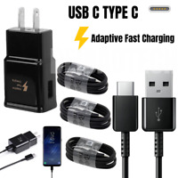 OEM SAMSUNG Galaxy S8 S9 S10Plus Note10 Fast Wall Car Charger Type-C USB C Cable