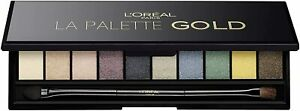 L'OREAL Color Riche Eyeshadow La Palette Gold 7g - NEW Sealed
