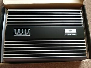 Mosfet power car audio amplifier wudi car audio 3200w watts 668 cheap