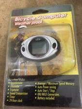 BICYCLE COMPUTER - SPEEDOMETER, ODOMETER, TRIPMETER, TIMER, CLOCK, AVG SPEED ETC