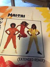 "Mai Tai - Body & Soul RARE VINYL 12"" SINGLE 1985 VG+/VG+"