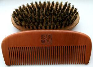 Beard Comb Mustache kit for Men - Natural  ✮ Kick-Ass ✮ 2020 !