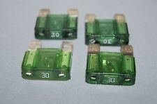 Pack of 4 Dodge Ford Jeep GM Chevy Buick GMC Mercedes 30A maxi blade green fuse