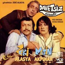 DAVETSIZ MISAFIR - ZEKI ALASYA - METIN AKPINAR -TÜRKISCHE KINO FILM-VCD