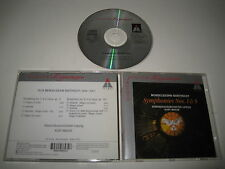 F. Mendelssohn-Bartholdy/Symphonies 1 & 5 (Teldec/4509-98693-2) CD Album