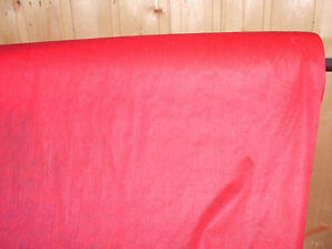 1 m  Freudenberg Klebende Bügelvlies 90 cm Breit Farbe :Rot      (Rot 90